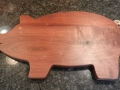 Handcrafted Pig Serving Board